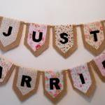 Just Married Rustic Buntin..