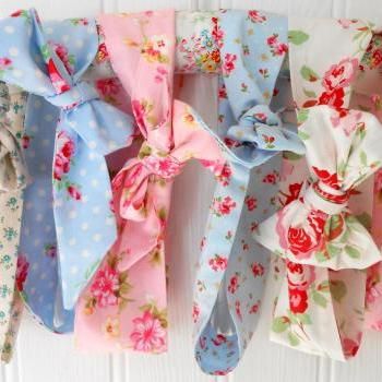 Floral headbands pretty summer accessory